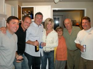 John, Sunny, Brent, Brandy, Kathy B, Warren, and Jim (R to L)